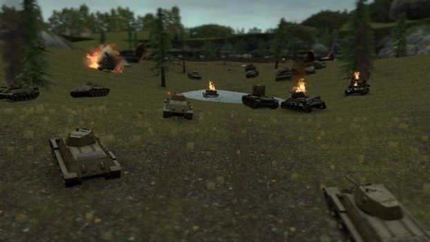 Operation Citadel. (Battle of Kursk) by TheSniperKid