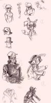 Dump of the Sketch by Olive-Owl
