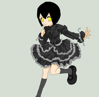 alice in a lolita dress by BLACK-ALICE-14