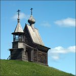Wooden chapel by NikolaiMalykh