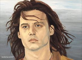 Johnny Depp - Gilbert Grape by shaman-art