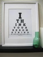 Typography Poster- love by Happylifeprints