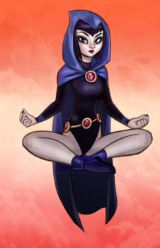 Raven by DarthTerry