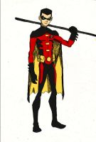 Robin: The Red Bird of Gotham by femshepfan2013