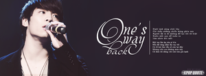 [COVER FACEBOOK] One's way love by voicon9991999