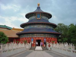 Epcot China 1 by AreteStock