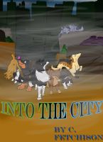 Into The City comic title page by Wolfdog27