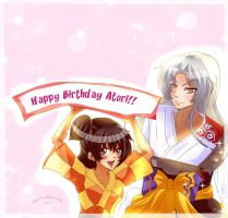 Sesshomaru and Rin : HB Atori by Yuri-chan24