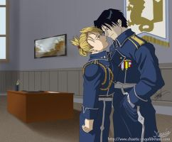 Roy and Riza - finished by mersades