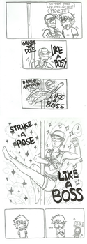 Pole Dancing LIKE A BOSS by Azuneechan