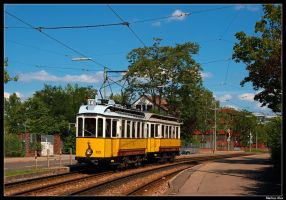 Hot Summer, Old Trams by TramwayPhotography