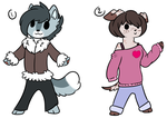 Canine Anthro Adopts : OTA by ThePotato-Queen