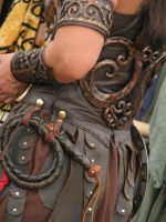 Xena's Leather by IthiliamStock