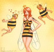 Queen bee Nami by CappuccinoBird