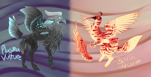 Creature Design Collab Auction (1/2 OPEN) by Amaterasufox