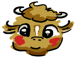 Cow by chickenmobile