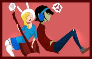 Fionna Marshall lee by mokomar