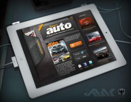 Sportauto Application Ipad by JFDC