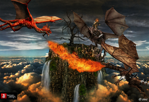 The Dragon Knight: Wheel of Time by teMan