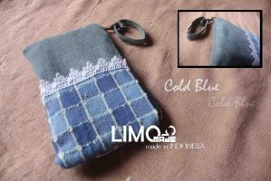 Cold Blue - Handmade Wallet by LIMOmade
