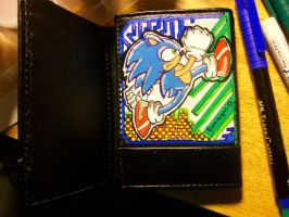Sonic the Hedgehog Wallet by Ailin34