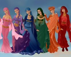 Goddess Colors by CartoonNetworkgal