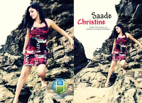 Christine New Retouching Design by HASSAN-FIZO