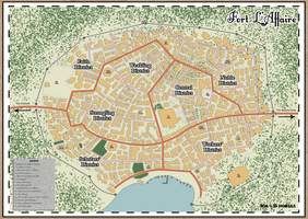 Map of Fort L'Affaire by ErnieTheMighty