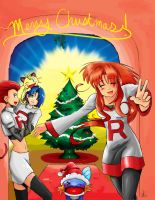 Team Rocket Christmas by TRLucky