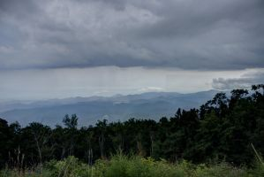 Blue Ridge Parkway HDR by cadillacphunque