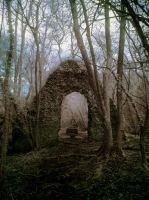 Chapel in the wood by Spikey-T