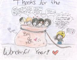 One Year Anniversary Picture by JoeJonasgirl1