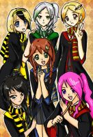 Hogwartz Girlz by LibbyTheLost
