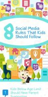 8 Social Media Rules Kids Should Follow(Infograph) by yasminsairah