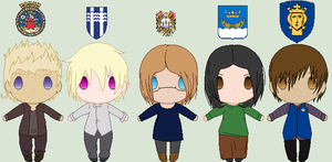 Hetalia- The Five Capitals of the North by Karma-Maple