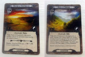 LotR LCG Cards by kovah