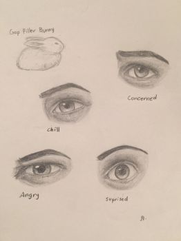 Eye Emotions by azul013