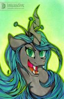 Queen Chrysalis by Inteaselive