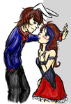 Victoria y Vincent/ Request para ~regicarbonell by LittleKidCoca