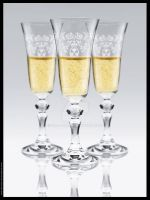 Engraved Pattern Champagne by dra-art