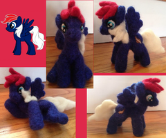 White7777's OC Posable Needle Felt by the-pink-dragon