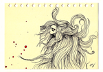 Hair Demon - First Drawing of 2016- by IoannisCleary