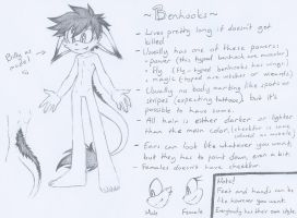 .:SONIC SPECIE REFERENCE:. ~Benhooks~ by SilverfanNumberONE
