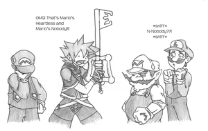 What if Sora joinded Brawl? by Grimor-san