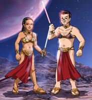 Princesses Leia by ErinPtah