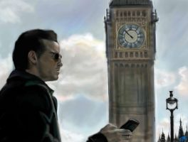 BBC Sherlock 2 - Moriarty by DreamyArtistRoxy3