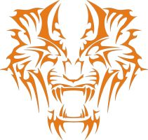 Tiger vector logo by ShangyneX