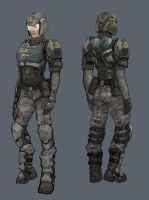 New Conglomerate female light assault by Hebime
