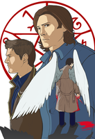 Supernatural Print by MidnightZone