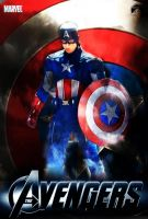 Captain America Avengers Movie by Alex4everdn